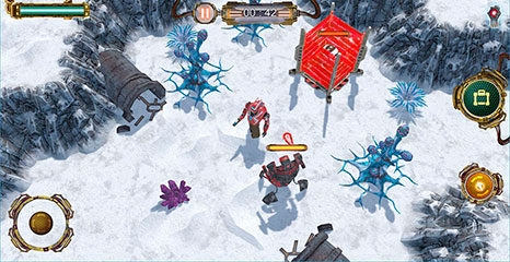 Graati Guardians - Game Screenshot